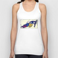 motorcycle Tank Tops featuring Motorcycle by Funniestplace