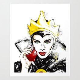 Evil Queen Art Print