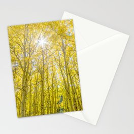 Nevermind The Trees Stationery Cards