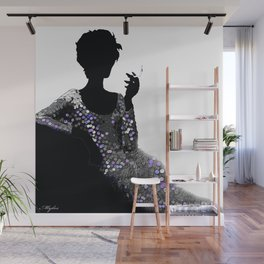 FEMME FATALE WOMAN NO APOLOGIES Wall Mural