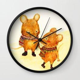 Taiwan Field Mouse Wall Clock