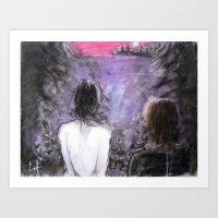 Fall Apart... Art Print