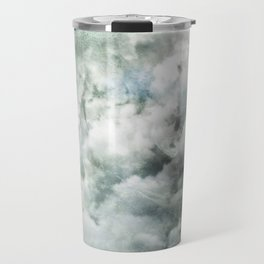 You must not blame me if I do talk to the clouds Travel Mug