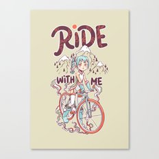 Ride With Me Canvas Print