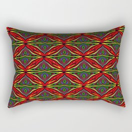 Kawung Tripp Rectangular Pillow