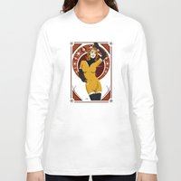 nouveau Long Sleeve T-shirts featuring Leonis (Nouveau) by Andrew Formosa
