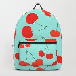 Mint Cherries Backpack