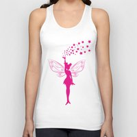 fairy Tank Tops featuring fairy by Li-Bro