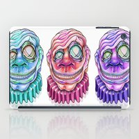 clown iPad Cases featuring Clown by Kikillustration