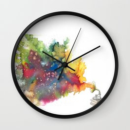 Language of Music Wall Clock