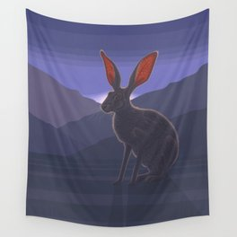 Black-tailed Jackrabbit Wall Tapestry