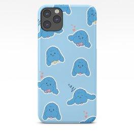 Yuri on Ice Makkachin (Blue) iPhone Case