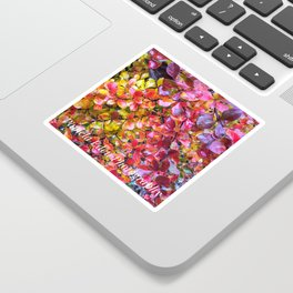 Barberry Fall Colors Sticker