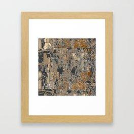 Steel factory II Framed Art Print