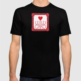 Wild Card in Hearts (Perfectly symmetrical) T-shirt