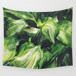 Hosta Wall Tapestry