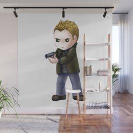 Chibi Dean Winchester (White BG) Wall Mural