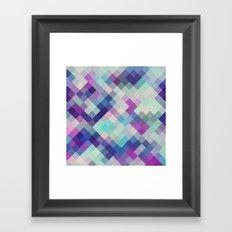 on the cool side Framed Art Print