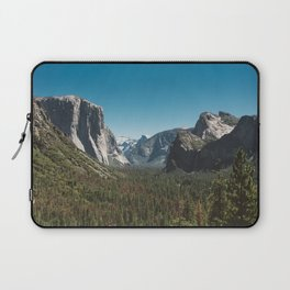 Tunnel View, Yosemite National Park V Laptop Sleeve