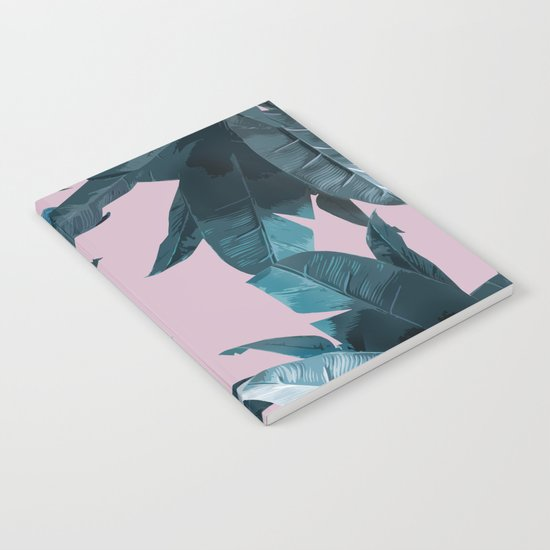 Tropical Palm Print #2 Notebook