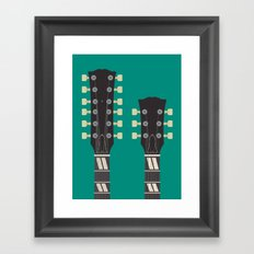 Guitar Heroes #6 - Jimmy Framed Art Print