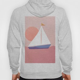 Abstraction_Sailing_Ocean Hoody