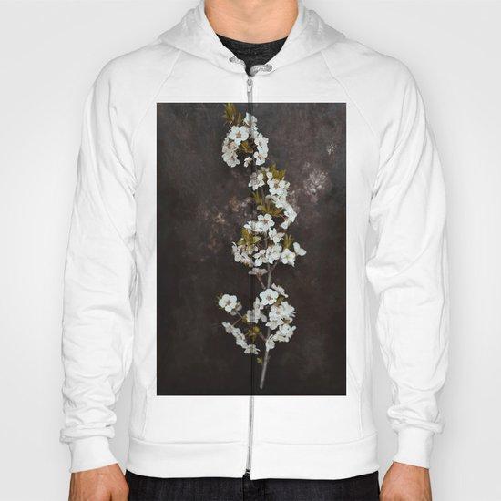 Cherry Blossom on black  Hoody