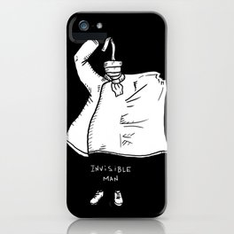Invisible Man iPhone Case