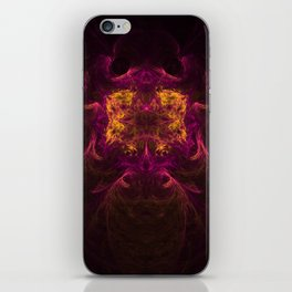 The Visitor 6 iPhone Skin