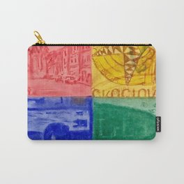 Conversation and Dialogue Carry-All Pouch