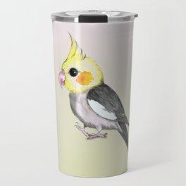 Very cute cockatiel Travel Mug