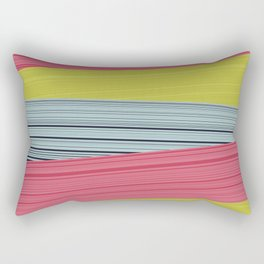 Bubblegum Pop Weave Rectangular Pillow