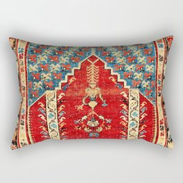 Kula West Anatolian Niche Rug Print Rectangular Pillow