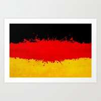 germany Art Prints featuring Germany by Nicklas Gustafsson