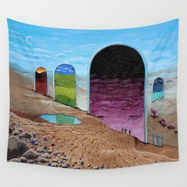 Between Nowhere Wall Tapestry