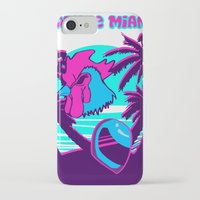 hotline miami iPhone & iPod Cases featuring Hotline Miami  by noxioussomnium
