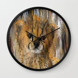 You're a Cheetah, But I Love You Baby Wall Clock