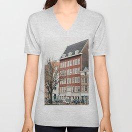 Amsterdam love Unisex V-Neck