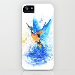 Between Water And Air iPhone Case