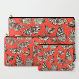 summer butterflies fire Carry-All Pouch