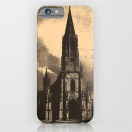 Iconographic Encyclopedia of Science, Literature and Art (1851) - Middle Age Architecture 2 iPhone Case