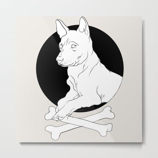 dog it Metal Print