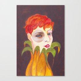 RETRATO 120314 Canvas Print