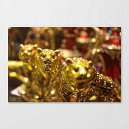 Golden Tigers of Dubai Canvas Print