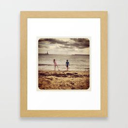 Last Days of Summer Framed Art Print