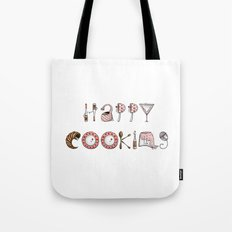 Happy Cooking Tote Bag