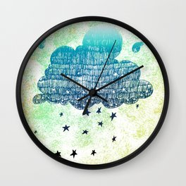 Star Shower Wall Clock