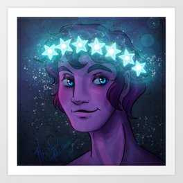 Morpheus God of Dreams Art Print