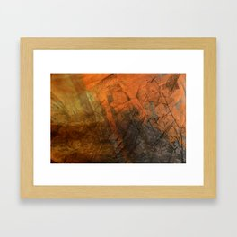 All Fall Down Framed Art Print