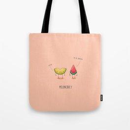 Meloncholy Tote Bag